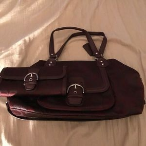 Coach bag and wallet bundle